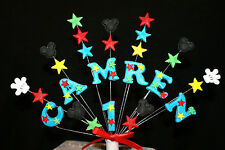MICKEY MOUSE Birthday Cake Topper  (any name and age can be added)