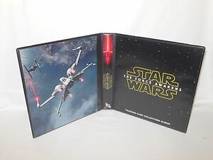 Custom Made Star Wars The Force Awakens Trading Card Binder Graphics Only