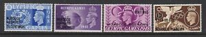 MOROCCO AGENCIES (SPANISH CURRENCY) 1948 OLYMPICS SET NEVER HINGED MINT