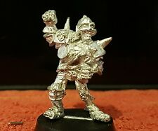 WARHAMMER Games Workshop Giocatore Bloodbowl CAMPIONI DELLA MORTE non Morti Scheletro in metallo fuori catalogo