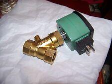 "ASCO redhat valves SD8030G071 1/2""npt N/O 0-15 PSI 120vac/60"