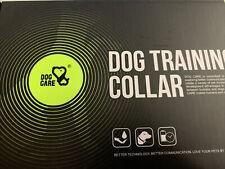 New listing Dog Care Tc01 Dog Training Collar Rechargeable Shock w/3 Modes 1000 ft Range