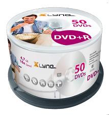 XLYNE DVD+R 4,7GB, 120min, 16x, 10er, 25er, 50er Spindel Rohlinge