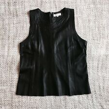 Sandro Leather Top Sz 2/UK10