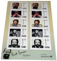 Bud Spencer Briefmarken 10 x 2,60 Euro Briefmarkenbogen Limited Edition
