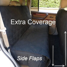 SUV Truck Van Car Back Seat Cover Dog Pet Quilted Padded Extra Coverage Large