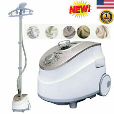 1.8L Professional Safe Stand Clothes Fabric Iron Steamer 11 Level Garment Hanger