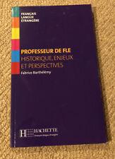 Professeur de FLE : Historique, enjeux et perspe... | Book | condition very good