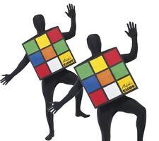 Smiffys 33663 Déguisement adulte Rubik's Cube Multicolore Taille Unique