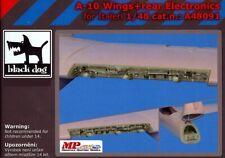 Blackdog Models 1/48 A-10 THUNDERBOLT WINGS & REAR ELECTRONICS Resin Detail Set