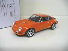 1:18 GT Spirit PORSCHE 911 Singer Orange 1975 RETRO NUOVO NEW