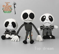 New Nightmare Before Christmas Jack Skellington Plush Soft Toy Doll Teddy Gift