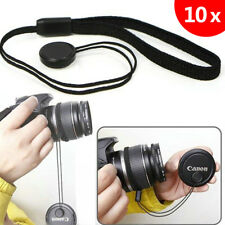 10x Lens Cover Cap Holder Keeper String Leash Strap Rope For Canon Nikon Camera