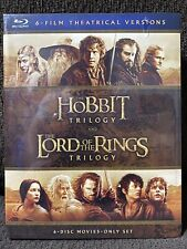 The Hobbit Trilogy and The Lord Of The Rings Trilogy (Blu-ray Disc 6-Disc)