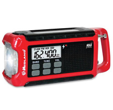New ListingE+Ready Emergency Crank Weather Alert Radio