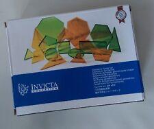 Géométrique Traceur Set by INVICTA Education (lot de 17 Plastique Formes)