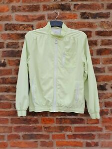 🎾🎾 ADIDAS Pale Green Tennis Jacket UK14