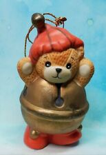 Enesco Lucy and Me Lucy Rigg Bear as Jingle Bell ornament