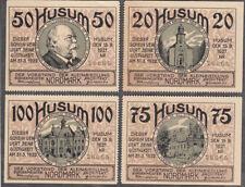 Husum -Kleinsiedlung- Vollständige Serie, 4 Scheine (L 622.4)