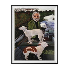 "Old Man And Dogs Tommy's Mother Painting Poster Goodfellas Movie 18"" x 24"" Wall"