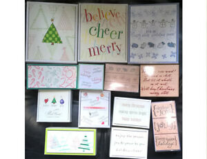 HERO ARTS XMAS WOOD MOUNTED STAMPS/ SETS 13 DESIGNS TO CHOOSE FROM