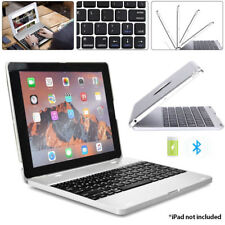 """For 9.7"""" iPad 3 A1416 A1430 A1403 Laptop Wireless Keyboard Power Bank Shell Case"""