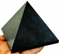 Energieheilender schwarzer Turmalin-Stein-natürlicher Reiki-Pyramiden-Kristall