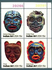 STATI UNITI - USA - 1980 - Maschere indiane