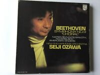BEETHOVEN Symphony No.9 SEIJI OZAWA With The New Philharmonic Orchestra 3 LPs