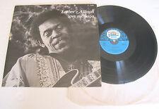 LUTHER ALLISON Love Me Papa (1977) LP VINYL Black And Blue 33.524 WE 341