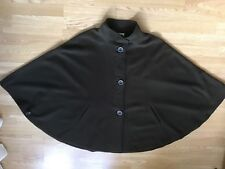 Jimmy Hourihan Cashmere and Wool Green Cape One Size S/M/L