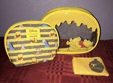 Loungefly Disney Winnie the Pooh Eeyore Tigger Hunny Makeup Cosmetic 3 Bag Set