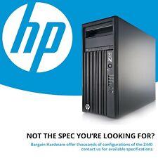 HP Z230 Cheap 4th Gen i7-4770 SSD Tower Workstation Precision PC Win 10 16GB RAM