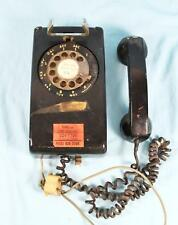 Bell System Western Electric  Rotory Wall Phone Telephone