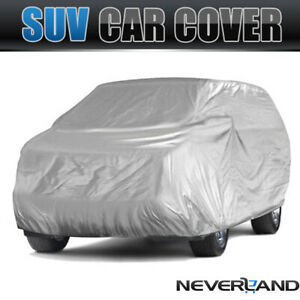 Full SUV Car Cover Dust UV Proof In/Outdoor Fits Land Rover Range Rover Sport
