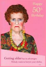 Happy 50th Birthday Greeting Card - Humour