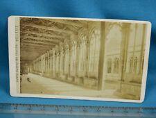 1870s CDV Italy Carte De Visite Photo Pisa Interno Del Campo Santo Giacomo Brogi