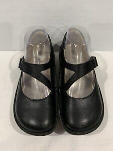 Alegria Dayna Black Leather Shoes 36