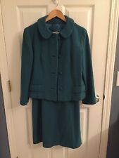 Vintage IRISH TWEED Ladies Suit Skirt Jacket Pure Wool Ireland  GUC
