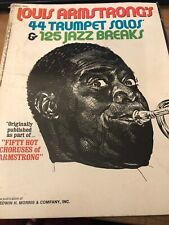 Louis Armstrong's 44 Trumpet Solos & 125 Jazz Breaks Unknown Binding – 1951