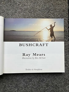 Ray Mears Bushcraft, First Edition (2002), Dust Cover Missing