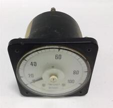Crompton Analog 0-100 Amperes Gauge 5 Amps