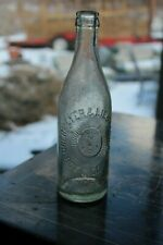 Vintage Oberymeyer & Liebmann's NYC Advertising Beer Bottle Sunny Face Logo