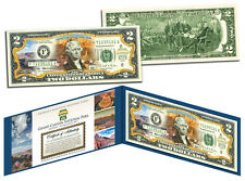 GRAND CANYON Official United States $2 Bill Honoring America's National Parks