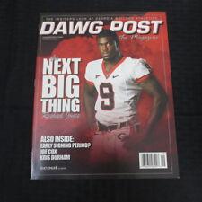 ccb43c28156 UGA Georgia Bulldogs Dawg Post Magazine Sept 2008 Reshad Jones