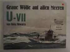 Graue Wolfe auf allen Meeren U-VII - German Text, lots of BW Photos