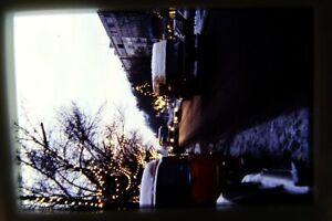 Altes ORIG. DIA ca. 60er J.BERLIN STRASSE AUTOS WINTER BUS LKW