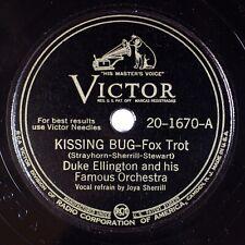 DUKE ELLINGTON: Kissing Bug US Victor 20-1670 Joya Sherrill Jazz Vocal 78 E+