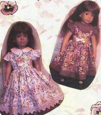 "DRESS  PATTERN Sewing PATTERN fits 17"" 18""  American Girl dolls AG"