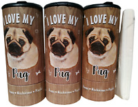 85001 I Love my Basset Hound Refillable Tissue Tube with 1 Refill package